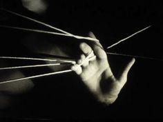 Maya Deren and Marcel Duchamp, The Witch's Cradle, 1943