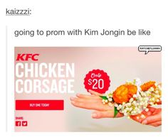 be my date to prom Kai...