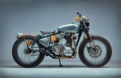 A custom Royal Enfield 350 against all odds, Swar is a gorgeous build by RS Moto from Nepal.