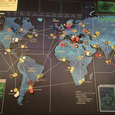 We did eeeeet! #boardgames #pandemiclegacy