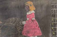 Eerie Chalkboard Drawings From Almost 100 Years Ago Were Discovered Unscathed