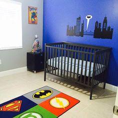 Super Hero Room Decal Batman Gotham City by JaneyVinylArt