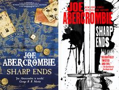 Books by Proxy | Cover Reveal: Sharp Ends by Joe Abercrombie – UK vs US Edition