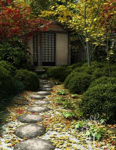 Отличия Китайского и Японского садов / Идеи для сада / Royal Gardens - Домик для чайных церемоний в Японском саду