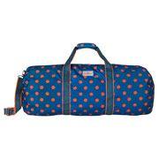 Button Spot Large Foldaway Barrel Bag