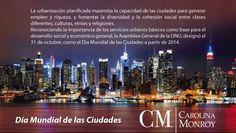 Dia Mundial de las Ciudades