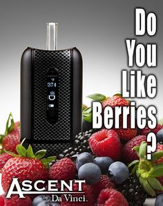 Enjoy some berries while vaping with the best portable vaporizer.