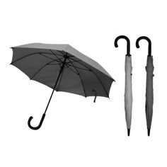 EXEC 23'' Straight Umbrella.  Rust free and light weight plastic ribs and carbon shaft