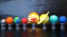 diy solar system project 3d - YouTube