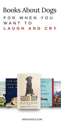 Want a book to make you laugh and cry? The books about dogs on this reading list from Mind Joggle are perfect choices. Find fiction and nonfiction books featuring dogs that are sure to make your day. #books #booklist #dogs Literary Fiction, Fiction And Nonfiction, Book Lists, Reading Lists, Dog Minding, How To Read Faster, Dog Books, Laughing And Crying, Popular Books