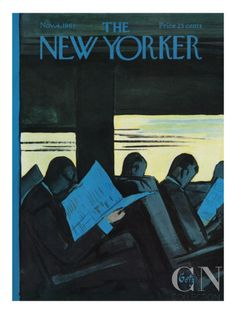 The New Yorker Cover - November 4, 1961 Premium Giclee Print