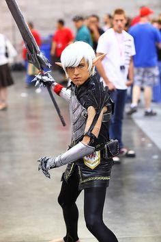 Sylar Aicosu Dragon Age II 2011 Phoenix Comicon by gbrummett, via Flickr