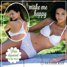 Adquira pela nossa Loja Virtual: www.framboesalingerie.com