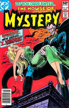 The House of Mystery #290. Cover by Joe Kubert.