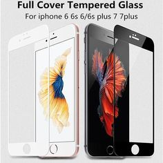 Screen Protector for iPhone 7 5 5s 5C se 6 6S 7 Plus Glass Screen Protector cover film
