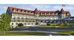 Hotel on the Bay of Fundy, St. Andrews, New Brunswick Canada