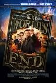 The title shows the world ending literal but it symbolizes how the pub crawl was the end of Gary kings world