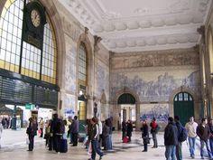 Visiter Porto avec moins de 150 euros : Gare de São Bento