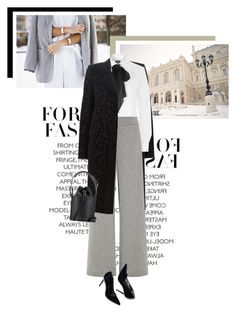 """""""Mood of the day: Bow Blouse"""" by veronicamastalli ❤ liked on Polyvore featuring Yves Saint Laurent, Polo Ralph Lauren, Sally Lapointe, Victoria Beckham, women's clothing, women, female, woman, misses and juniors"""