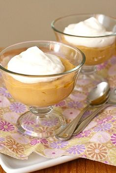 @Emily B is going to tempt me make this Butterscotch Pudding, I just know it.  :)