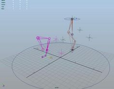 Credit to Morgan Loomis for initial Fore-leg and Hind-leg rigs. I added No-Flip and simple controls.