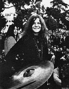 In the park san fran with Janis Joplin