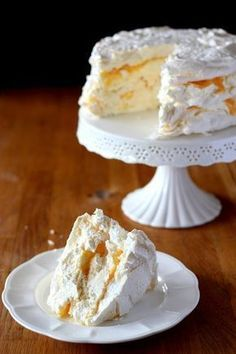 Cake nature fast and easy - Clean Eating Snacks Polish Desserts, Polish Recipes, Cookie Recipes, Dessert Recipes, Meringue Cake, Kolaci I Torte, Sweets Cake, Pumpkin Cheesecake, Piece Of Cakes