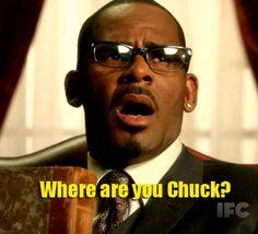 Where are you Chuck?