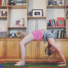 How to do wheel pose (urdhva dhanurasana) -  prep poses, warm ups, and tips from a yoga teacher: http://www.amplifyoga.com/path-to-the-pose-wheel/