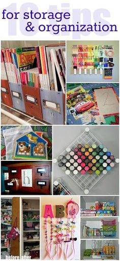 10 DIY Storage and Organization Ideas