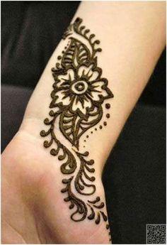 18. #Арабский Менди - 35 #невероятное хна тату дизайн вдохновения... → #Beauty