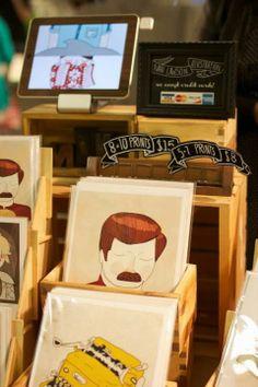 Cute craft #stand by Nan Lawson   https://www.facebook.com/nanlawsonart    #craft #exhibitors