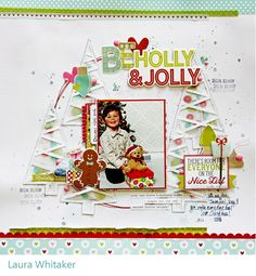 Scrappin' Around the Clock: Be Holly and Jolly | T'is the Season 12 Days of Holiday Scrapping Videos