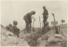 Cens Entrenchments on the Piave Italy About 1918 Gelatine process Rome Central Museum of the Risorgimento