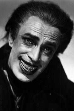the man who laughs (1928, dir. paul leni) My feels are now shot. I love how this actor was able to portray despair and crying despite the deformation of his face permanently smiling. That movie. I need to watch it all the way.
