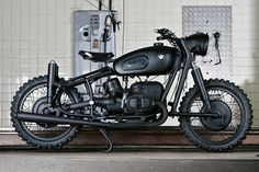 Some sort of totally awesome looking BMW Motorcycle