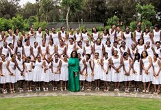 Oprah Winfrey - Her Leadership Academy for Girls graduation - this is surely an inspiration...