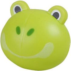Green Frog Toothbrush Holder