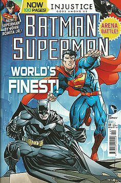 #Batman / #superman # 9 / #injustice gods # 7 / new 52 / titan/dc / may 2015 / n/,  View more on the LINK: 	http://www.zeppy.io/product/gb/2/151947934008/