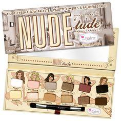 Paleta De Sombras The Balm Nude' Tude