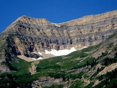 The top of Mt. Timpanogas