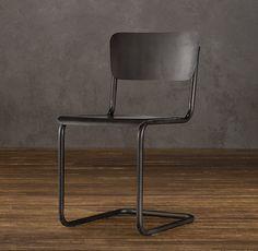 School house chair - rest hardware