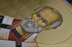 Saint Nicholas - byzantine icon