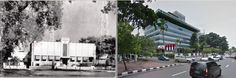 Gedung NIROM (Nederland Indische Radio Omroep), Djakarta,  1949, ,., Gedung Radio Republik Indonesia (RRI), jl Merdeka Barat, Jakarta,  2014