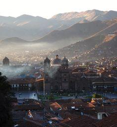 A Praça das Armas Cusco. #Peru