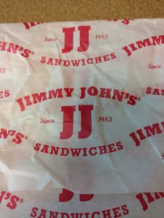"""Ordered Jimmy John's for the first time. Sandwich was good, but 25 minutes was not how I imagined their """"Freaky Fast"""" delivery. Good sandwich though."""