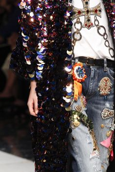 Dolce & Gabbana Spring 2017 MFW