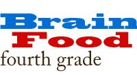 4th Grade Brain Food - links and workbooks for review and fun