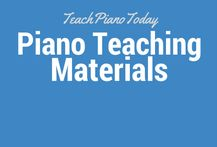 Materials for teaching piano to kids. Free printables, advice and resources.