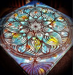 Zendala ohhhh this is beautiful!! Exactly what I want to do for my living room piece!